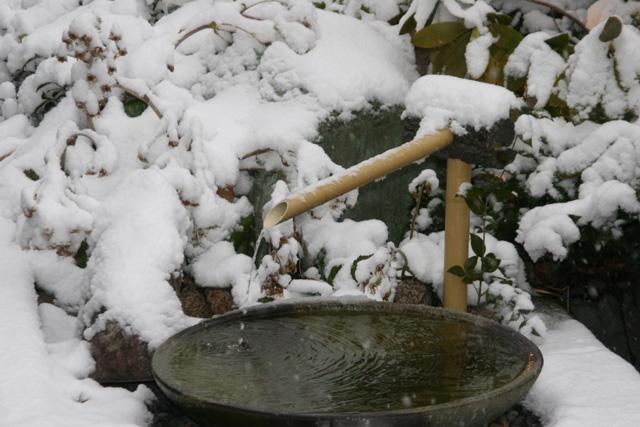 2月 雪景色