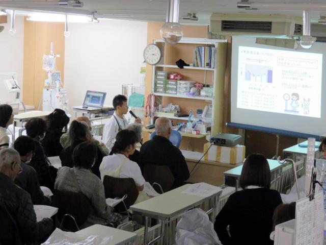 医事講和会・避難訓練を開催しました。