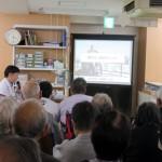 医事講話会・避難訓練を開催しました。